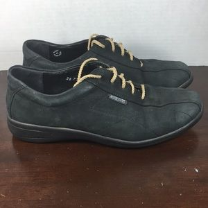 Mephisto Suede Lace-Up Shoes Sz 8 1/2